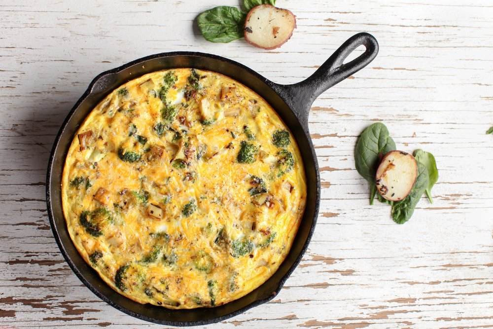back-to-school recipes egg frittata
