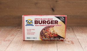 Sol Cuisine Black Bean Burger