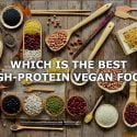 high-protein vegan food