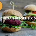 THE VEGAN-BEFORE-SIX DIET