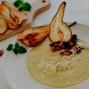 pear + leek soup