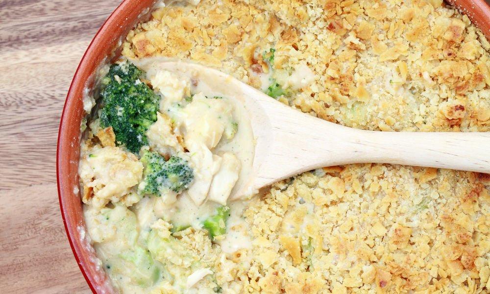 Vegan Chicken Casserole