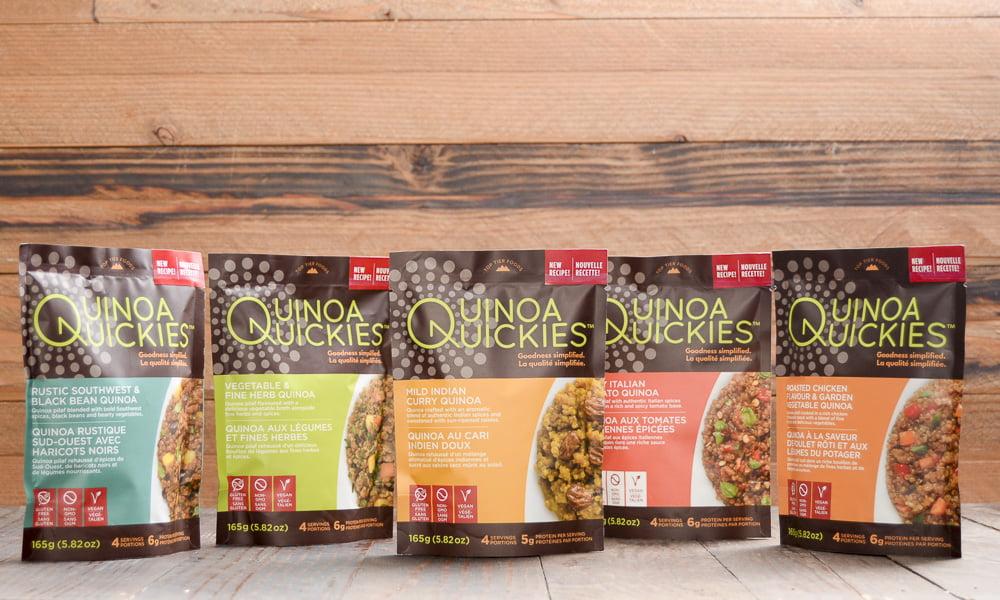Quinoa Quickies