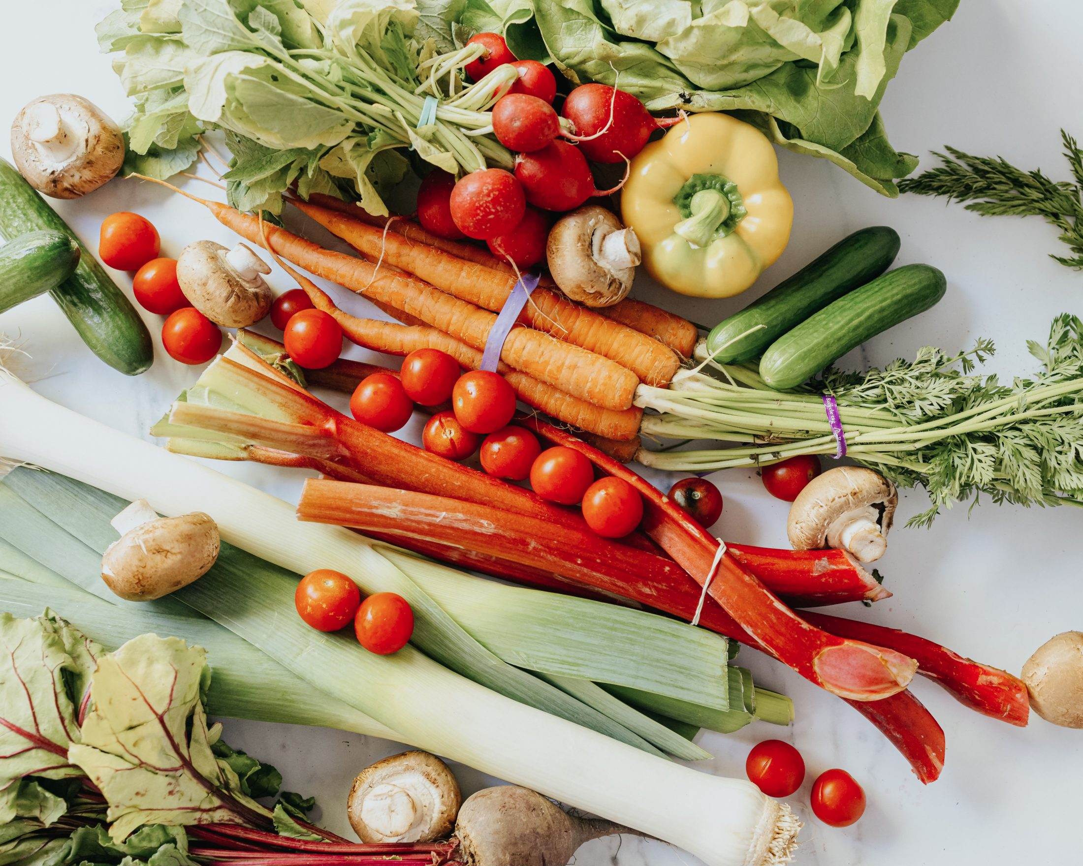 Local fresh vegetables from SPUD